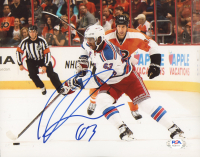 Anthony Duclair Signed Rangers 8x10 Photo (PSA COA) at PristineAuction.com