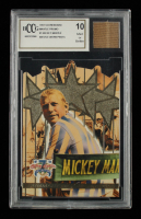 Mickey Mantle 1997 Scoreboard Mantle Promos #1 With Game Worn Pants Piece (BCCG 10) at PristineAuction.com