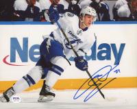 Jonathan Drouin Signed Lightning 8x10 Photo (PSA COA) at PristineAuction.com