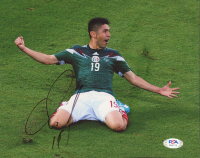 Oribe Peralta Signed Team Mexico 8x10 Photo (PSA COA) at PristineAuction.com
