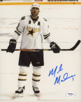 Mike Modano Signed Stars 8x10 Photo (PSA COA) at PristineAuction.com