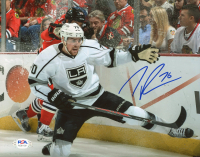 Tanner Pearson Signed Kings 8x10 Photo (PSA COA) at PristineAuction.com