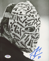 Gerry Cheevers Signed Bruins 8x10 Photo (PSA COA) at PristineAuction.com