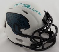 James Robinson Signed Jaguars Lunar Eclipse Alternate Speed Mini Helmet (Beckett Hologram) at PristineAuction.com