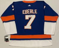 Jordan Eberle Signed Islanders Jersey (JSA COA) at PristineAuction.com