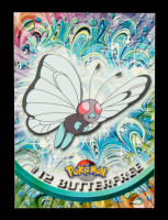 Butterfree 1999 Pokemon TV Animation Series 1 Black #12 at PristineAuction.com