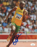 Usain Bolt Signed 2008 Beijing Olympics 8x10 Photo (JSA Hologram) at PristineAuction.com