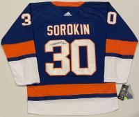 Ilya Sorokin Signed Islanders Jersey (JSA COA) at PristineAuction.com
