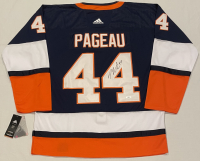 Jean-Gabriel Pageau Signed Islanders Throwback Jersey (JSA COA) at PristineAuction.com