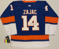 Travis Zajac Signed Islanders Jersey (JSA COA) at PristineAuction.com