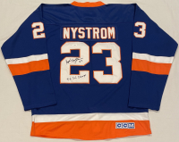 """Bobby Nystrom Signed Islanders Jersey Inscribed """"4x SC Champs"""" (JSA COA) at PristineAuction.com"""