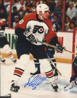 John LeClair Signed Flyers 8x10 Photo (PSA COA) at PristineAuction.com