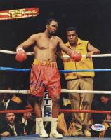 Thomas Hearns Signed Boxing 8x10 Photo (PSA COA) at PristineAuction.com