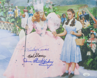 """Mickey Carroll, Karl Slover & Donna Stewart-Hardway Signed """"The Wizard of Oz"""" 12x15 Photo (JSA COA) (See Description) at PristineAuction.com"""