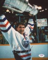 Wayne Gretzky Signed Oilers 8x10 Photo (PSA COA) at PristineAuction.com