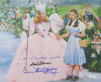 """Mickey Carroll, Karl Slover & Donna Stewart-Hardway Signed """"The Wizard of Oz"""" 12x15 Photo (JSA COA) at PristineAuction.com"""