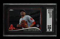 Mookie Betts 2014 Topps Chrome Update #MB46 (SGC 10) at PristineAuction.com