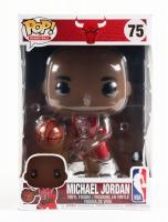 "Michael Jordan - Bulls - Basketball #75 Large 10"" Funko Pop! Vinyl Figure at PristineAuction.com"