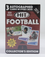2016 Sage Hit High Series Football Blaster Box with (15) Packs at PristineAuction.com