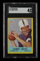 Johnny Unitas 1967 Philadelphia #23 (SGC 4) at PristineAuction.com
