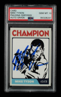 Mike Tyson Signed 2015 Gypsy Oak #13 (PSA Encapsulated) at PristineAuction.com