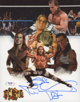 """Shawn Michaels Signed WWE 8x10 Photo Inscribed """"HBK"""" (PSA COA) at PristineAuction.com"""