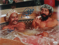 """Cheech Marin & Tommy Chong Signed """"Up In Smoke"""" 11x14 Photo (JSA COA) (See Description) at PristineAuction.com"""