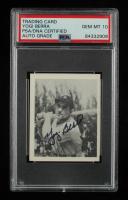 Yogi Berra Signed 1948 Bowman #6 RC (PSA Encapsulated) at PristineAuction.com