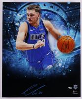 Luka Doncic Signed Mavericks 20x24 Photo on Foam Board (Fanatics Hologram) (See Description) at PristineAuction.com