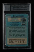 Bo Jackson Signed 1988 Topps #327 SR RC (BGS Encapsulated) at PristineAuction.com