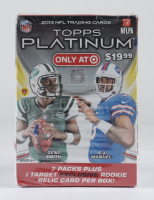 2013 Topps Platinum Football Blaster Box with (7) Packs (See Description) at PristineAuction.com
