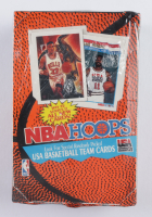 1991-92 NBA Hoops Series 2 Basketball Cards Hobby Box of (36) Packs (See Description) at PristineAuction.com