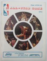 1972 NBA All-Star Game Program at PristineAuction.com