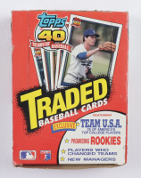 1991 Topps Traded & Rookies Baseball Wax Box of (36) Packs (See Description) at PristineAuction.com