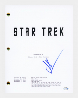 "J. J. Abrams Signed ""Star Trek"" Movie Script (AutographCOA COA) at PristineAuction.com"