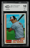 Cal Ripken 1982 Topps Traded #98T (BCCG 10) at PristineAuction.com