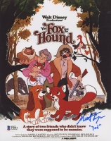 """Keith Coogan Signed """"The Fox and the Hound"""" 8x10 Photo Inscribed """"Tod"""" (Beckett COA) at PristineAuction.com"""