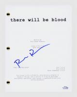 "Paul Dano Signed ""There Will Be Blood"" Movie Script (AutographCOA COA) at PristineAuction.com"