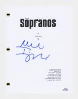 "Michael Imperioli Signed ""The Sopranos"" Pilot Episode Script (AutographCOA COA) at PristineAuction.com"