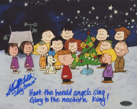 """Stacy Heather Tolkin Signed """"Peanuts: A Charlie Brown Christmas"""" 8x10 Photo Inscribed """"Sally Brown"""" with Quote (OC Dugout COA) at PristineAuction.com"""