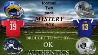 OKAUTHENTICS Football Two Pack Mystery Box -  Series III at PristineAuction.com