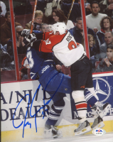 Jeremy Roenick Signed Flyers 8x10 Photo (PSA COA) at PristineAuction.com