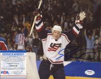 Jeremy Roenick Signed Team USA 8x10 Photo (PSA COA) at PristineAuction.com