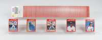 1990 Donruss Baseball Puzzle & Cards Box Complete Set of (728) Cards with Sammy Sosa & Frank Thomas Rookie Cards at PristineAuction.com