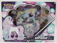 Pokemon TCG: Galarian Rapidash V Box With (4) Packs at PristineAuction.com