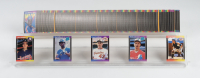 Complete Set (663/663) of 1989 Donruss Baseball Cards with #33 Ken Griffey Jr. RC, #464 Pedro Martinez RC, #31 Gary Sheffield RC at PristineAuction.com