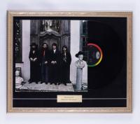 "The Beatles ""Hey Jude"" 22x18 Custom Framed Original Vintage LP Vinyl Record Album Display at PristineAuction.com"