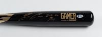 "Ronald Acuna Jr. Signed Marucci Baseball Bat Inscribed ""2018 NL ROY"" (Beckett COA) (See Description) at PristineAuction.com"