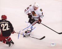 Marian Hossa Signed Blackhawks 8x10 Photo (PSA COA) at PristineAuction.com