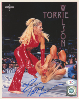 Torrie Wilson Signed WWE 8x10 Photo (PSA COA) at PristineAuction.com